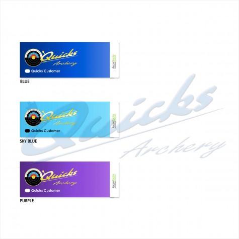 Quicks Custom Made Mini Arrow Wraps : 58mm Long : (pack of 12) : AA45New ProductsAA45