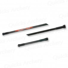 AR11  AAE Hot Rodz Nitrous Carbon Twin rod Black 10 inch only : LAST ONE