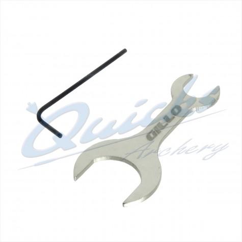 Gillo Final Damper Spanner and Wrench : AR73Vibration DampersAR73
