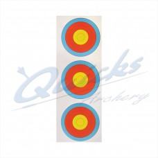 Target Face  Arrowhead 40cm Vertical 3 spot face RECURVE 10 RING only : AT45