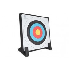 Avalon Economy  Foam Target Butt with stand and face  90 x 90 x 7cm 3kgs : Perfect for garden or leisure use : AT86