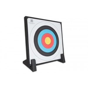 Economy  Foam Target Butt with stand and face  90 x 90 x 7cm 3kgs : Perfect for garden or leisure use : AT86