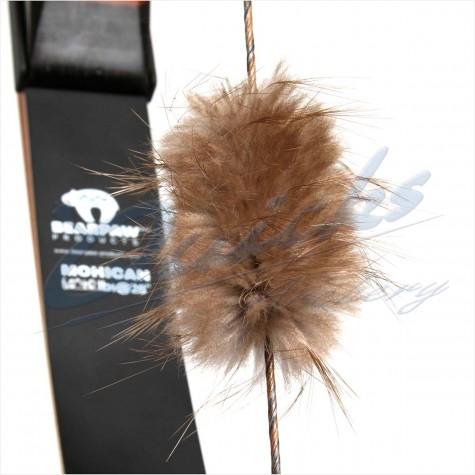 Bearpaw Beaver Puff Fur String Silencers (pair) : BD25String SilencersBD25