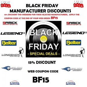 Black Friday Special Offers 25th November to 30th November