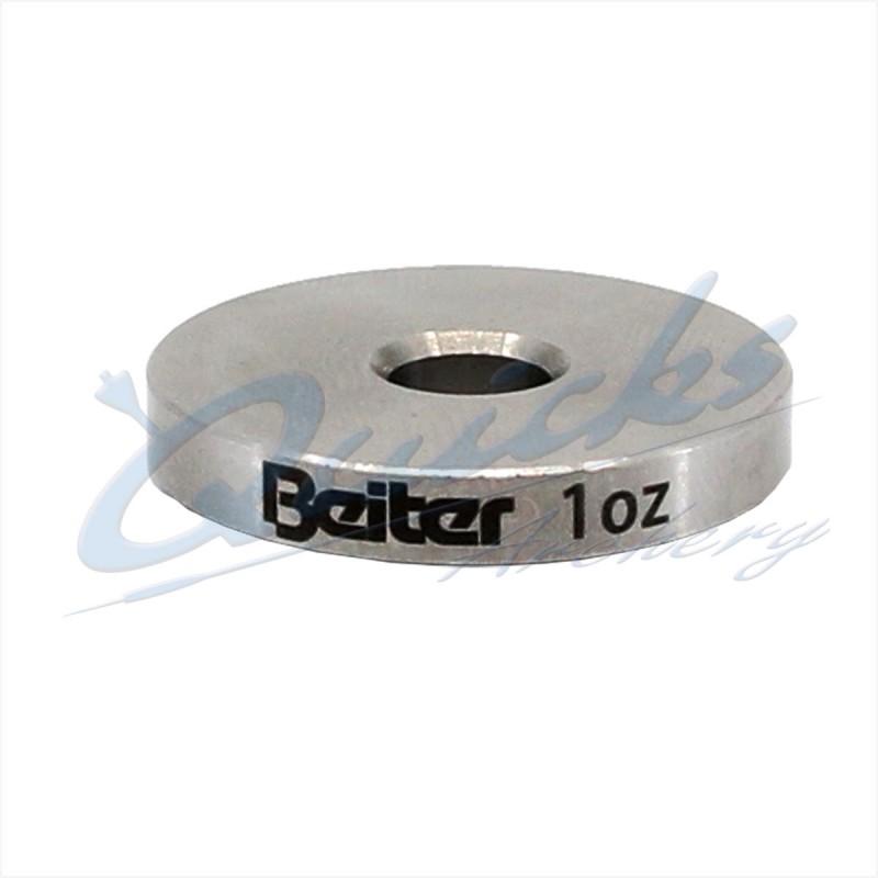 Beiter V-Box 1oz Disc Weight 5mm