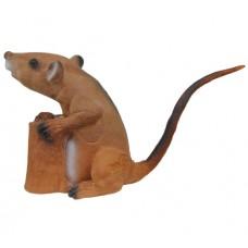 BT39 Bearpaw Longlife Sitting Rat 3D Target