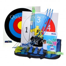 CB75 Arrows-Get into Archery Mini Kit 3 Bow Pack