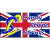 Candy Stripe Strings : 8190 Tri Colour 20 Strand Bowstring : TD71Bow StringsTD71