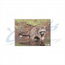 DT06 Delta Tru-Life Target Face Raccoon