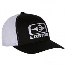 Easton Diamond  E  Hat Black/White   : EC18