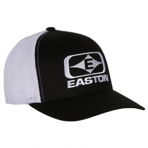 Easton Diamond  E  Hat Black/White   : EC18
