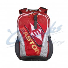 EE01 Easton 10 Ring Team Accessory Backpack : Red with Yellow Logo : Last One