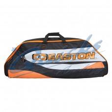 EE13  Easton Elite 4717 Deluxe Double Compound Case Black/Orange/Grey