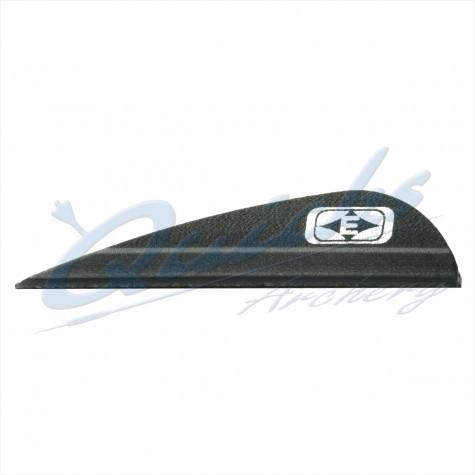 Easton Tite Vanes Parabolic Size 1.75 Parabolic (per doz) : EF05Plastic VanesEF05