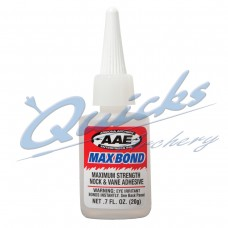 AAE Max Bond Adhesive Glue 0.7oz 20grms bottle : EK01