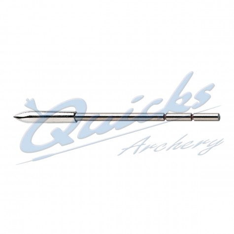 Easton X10 Stainless Steel Point (Two weight options) (each) : EP08Points For Carbon ArrowsEP08