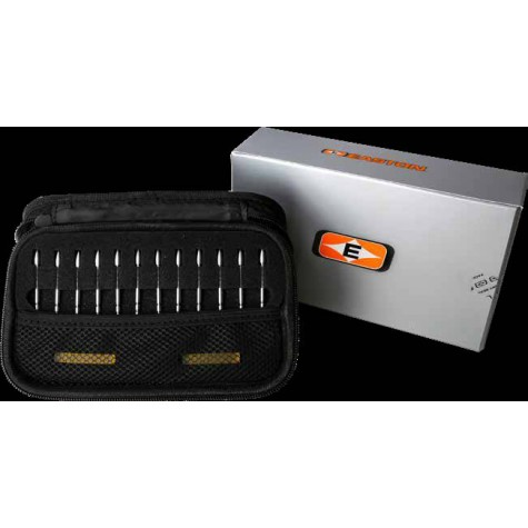 Easton X10 Aerojet Tungsten 120 grain Points (discounted unit price £19.00 each) (Pack of 12) : EP14Points For Carbon ArrowsEP14B