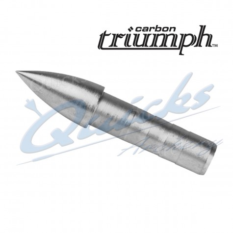 Easton One piece Insert point for Carbon Triumph (each) : EP85Points For Carbon ArrowsEP85