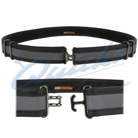 Easton De-Luxe Belt Grey/Black : EQ40Quivers & BeltsEQ40