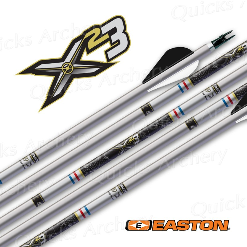 Easton X23 Arrows, Super Nocks & EP93 Points