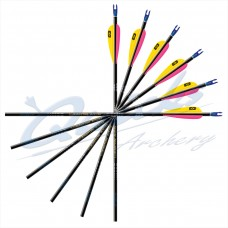 ES59 Easton ACG Finished Arrows with Breakoff Points and Pin Nocks (per 12)