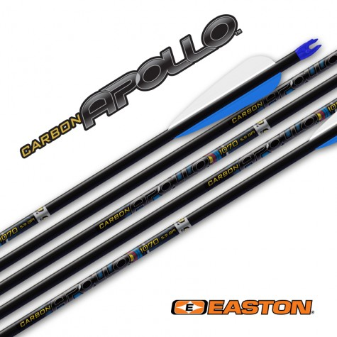 Easton Apollo Arrows with EN53 nocks & EP64 Points (set of 8) : ES64Carbon ArrowsES643F8