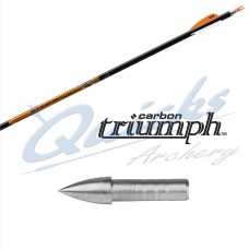 ES80 Easton Triumph SHAFTS only with G nock bushing (per 12) : Last few sets remaining