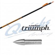 ES80 Easton Triumph Arrows with 1206 Unibush & EN53 G Nocks (Set of 12)
