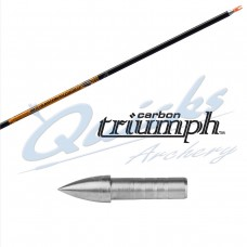 ES80 Easton Triumph SHAFTS only with nock bushing of your choice (per 12)