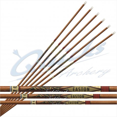 Easton 5mm AXIS Traditional SHAFTS (per 12) : ES94Carbon ShaftsES9412