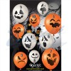 Egertec Halloween Novelty Faces : Pack of 10 assorted : GT32New ProductsGT32