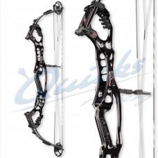 """HB23 Hoyt Podium X37 Elite Compound Bow : Spiral Pro Cam RH Black 50-60lbs 29"""" only : (was £1145.00)"""