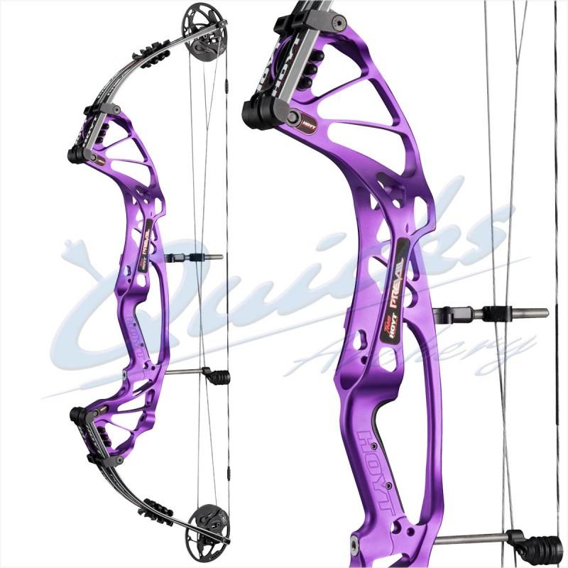 Hoyt Prevail FX Compound Bow : X3 Cam RH Violet 30-40 25 5-27 5