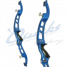 "HB5bow Hoyt Formula Excel Bow : HB59 Riser & HB55 Limbs : LAST BOW : LH Blue 68"" 38 lbs Only : BARGAIN"