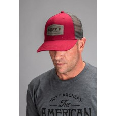 Hoyt 2020 :The Serious  Baseball Cap Red / Black : HC71