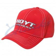 HC76 Hoyt Bold Red Cap