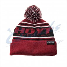 HC85 Hoyt Black & Red Beanie Hat : SORRY OUT OF STOCK