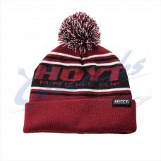 HC85 Hoyt Black & Red Beanie Hat