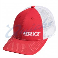 Hoyt Red/White Baseball Cap : HC87