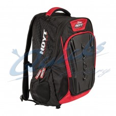 HE76 Team Hoyt Accessory Backpack Black/Red 2016 model with pvc outer protection