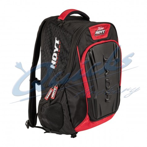Team Hoyt Accessory Backpack Black/Red with pvc outer protection : HE76Christmas IdeasHE76