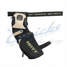 Hoyt Outfitter Holster Field Quiver Beige/Black : Includes Belt : RH / LH Reversible : HQ46