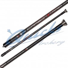 "Fuse Carbon X Taper Long Rod with 1oz & 3oz weights : 30"" Black : WAS £169.00  HR40"