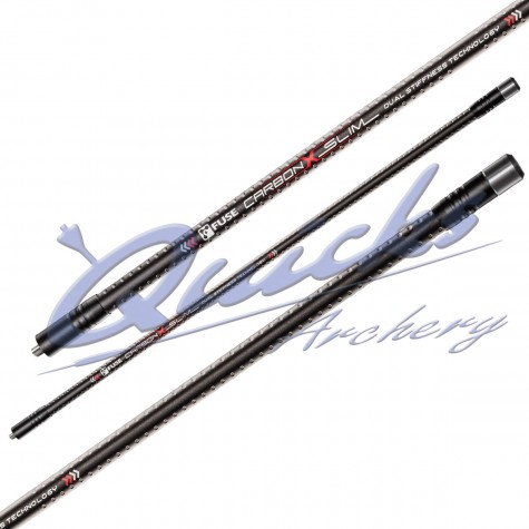 Fuse Carbon X Slim Long Rod (weights not included) : HR42Long RodsHR42