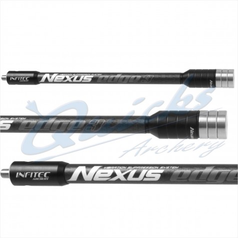 Infitec Nexus Edge3 Carbon Twin Rod (each) : IR51Twin RodsIR51