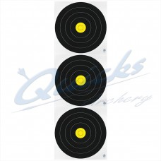 AT40 Arrowhead Fita Field 20cm Triple Spot Target Face (each)