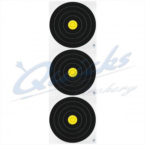 Arrowhead Fita Field 20cm Triple Spot Target Face (each) : AT40RoundelAT40