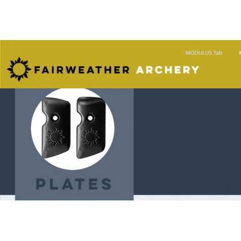 Fairweather Finger Tab Plate and Facings