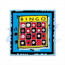 KT41 Bingo Novelty Target Face