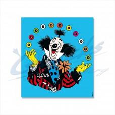 KT45 Clown Novelty Target Face